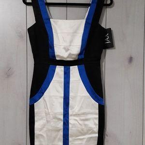 Color block Dress size 6